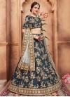 Art Silk Embroidered Work Trendy A Line Lehenga Choli - 1