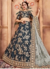 Art Silk Embroidered Work Trendy A Line Lehenga Choli - 2