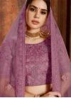 Beads Work Net Lehenga Choli - 1