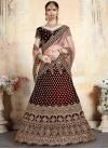 Velvet Trendy A Line Lehenga Choli - 1