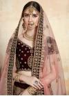 Velvet Trendy A Line Lehenga Choli - 2