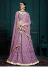 Embroidered Work Faux Georgette A - Line Lehenga - 2