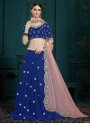 Faux Georgette A - Line Lehenga For Ceremonial - 2