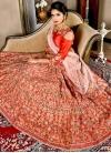 Satin Silk Trendy Lehenga Choli - 1