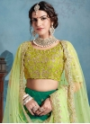 Embroidered Work A Line Lehenga Choli For Festival - 2