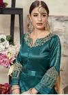 Silk Trendy Anarkali Salwar Kameez - 1