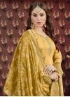 Uppada Silk Punjabi Salwar Kameez For Ceremonial - 1