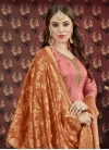 Lace Work Trendy Patiala Salwar Suit - 1