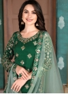 Art Silk Designer Patiala Salwar Kameez For Ceremonial - 1