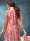 Embroidered Work Net Long Length Anarkali Salwar Suit - 1
