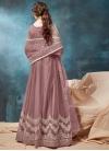 Net Chicken Work Long Length Anarkali Salwar Suit - 1