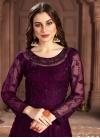 Embroidered Work Floor Length Anarkali Salwar Suit - 1