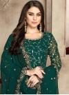 Faux Georgette Anarkali Salwar Kameez - 1