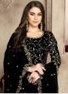 Faux Georgette Embroidered Work Long Length Anarkali Salwar Suit - 1