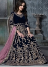 Embroidered Work Floor Length Anarkali Salwar Suit - 2