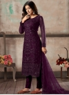 Embroidered Work Pant Style Pakistani Salwar Suit - 2