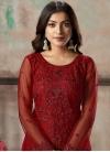 Pant Style Pakistani Salwar Kameez For Ceremonial - 1