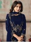 Faux Georgette Pant Style Salwar Kameez - 2