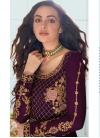 Faux Georgette Long Length Anarkali Salwar Suit - 1
