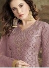 Embroidered Work Pant Style Designer Salwar Suit - 1