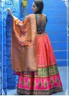 Banarasi Silk A Line Lehenga Choli For Festival - 1