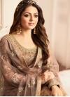 Jacquard Drashti Dhami Palazzo Style Pakistani Salwar Suit - 1