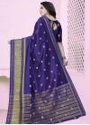Thread Work Trendy Classic Saree - 1