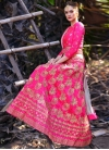 Embroidered Work Trendy A Line Lehenga Choli For Party - 1