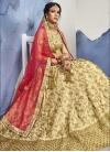 Designer A Line Lehenga Choli For Ceremonial - 1