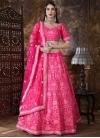 Silk Aari Work A Line Lehenga Choli - 2