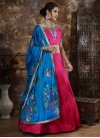 Blue and Rose Pink Trendy Lehenga Choli - 2