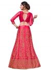 Satin Silk Trendy A Line Lehenga Choli - 2