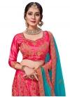 Satin Silk Trendy A Line Lehenga Choli - 1