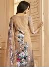 Crepe Silk Palazzo Straight Salwar Kameez - 2