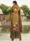 Crepe Silk Palazzo Style Pakistani Salwar Suit - 2