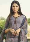 Crepe Silk Palazzo Style Pakistani Salwar Kameez - 2