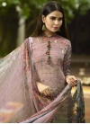 Crepe Silk Palazzo Style Pakistani Salwar Suit For Ceremonial - 2