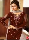 Faux Georgette Sharara Salwar Kameez For Ceremonial - 1