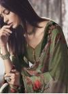 Crepe Silk Digital Print Work Pant Style Designer Salwar Suit - 1