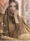 Crepe Silk Palazzo Style Pakistani Salwar Suit For Festival - 1