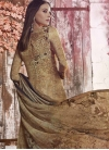 Crepe Silk Palazzo Style Pakistani Salwar Suit For Festival - 2