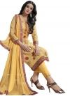 Cotton Digital Print Work Pant Style Salwar Suit - 1
