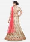 Satin Silk Booti Work Trendy Lehenga Choli - 1