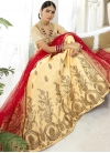 Embroidered Work Art Silk Trendy Lehenga - 1