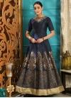 Silk Cutdana Work Readymade Classic Gown - 1