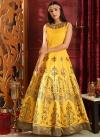 Cutdana Work Readymade Designer Gown - 1