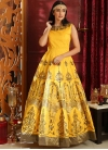 Cutdana Work Readymade Designer Gown - 2