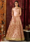 Embroidered Work Readymade Floor Length Gown - 2
