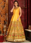 Silk Readymade Long Length Gown - 2