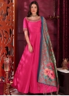 Silk Readymade Gown - 1